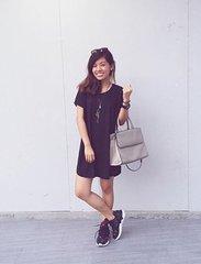 Flaunting my sporty chic look 😁💕 #Clozette #pilipinasootd @pilipinasootd