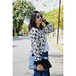 Little bit miss my medium hair... #ootd #fashionblogger #ClozetteID #fashionstyle #personalstyle #instamood #instafashion #vsco #vscocam