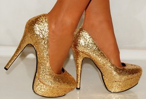 Wish List - How about some nice gold heels :)