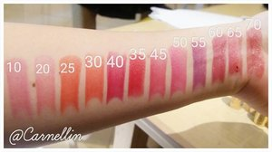 @maxfactor Lipfinity lipsticks swatches  #clozetteid #beautybloggerindonesia #Beautyblogger #makeup #cosmetic #maxfactor
